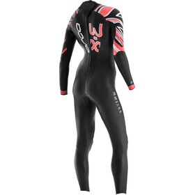 ORCA 03. Aug Fullsuit Women, nero/rosso